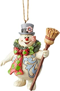 Enesco Frosty The Snowman by Jim Shore with Wreath