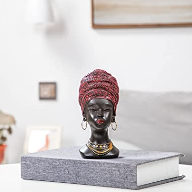 African Statue and Sculptures for Home Decorations,African Statues for Home Decor,African Figurines Home Decor Accent,African