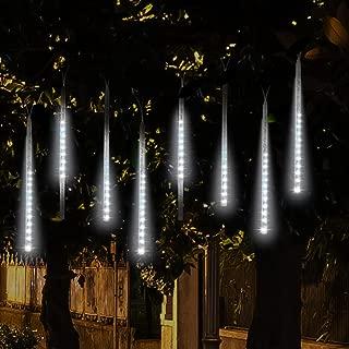 multi color twinkling icicle christmas lights