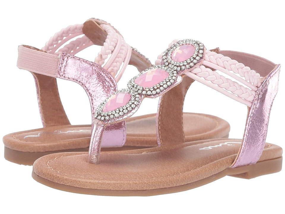 Nina Kids Constance (Toddler/Little Kid/Big Kid) (Pink) Girls Shoes