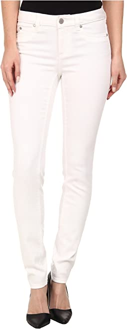 TWO by Vince Camuto Five-Pocket Skinny Jeans in Ultra White