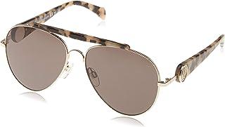 Tommy Hilfiger Aviator Sunglasses for Unisex - Grey Lens