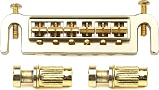 Swhc 6 String Electric Guitar LP Tune-O-Matic Wraparound Adjustable Bridge Studs Tailpiece Les Paul Style Gold