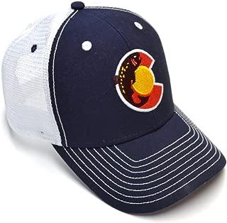Colorado Fish Trout Trucker Hat (Navy)