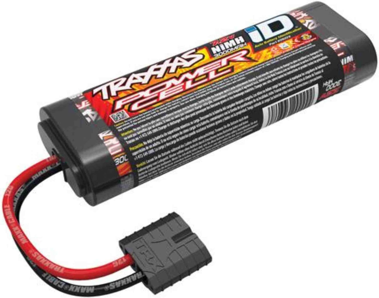 Amazon Com Melasta 8 4v 4200mah 7 Cell Hump Nimh Battery Pack With Traxxas Discharge Plug For Rc Racing Car Electronics