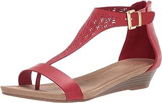 Women's City 3 T-Strap Low Wedge Sandal