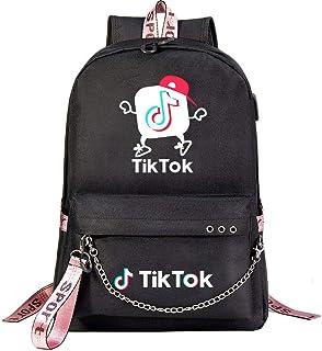 gaolinf Tik Tok Bolsa de viaje de negocios para colegio Usb Juvenil Estudiante Mochila de viaje para hombres y mujeres Ocio Mochila de viaje - 11_45cmx32cmx15cm