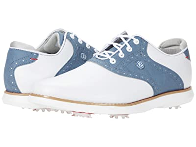 FootJoy Traditions (White/Blue) Women