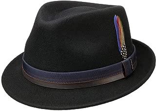 Stetson Sombrero Pennsylvania Woolfelt Mujer//Hombre de Hombre Fieltro Outdoor con Banda Piel Verano//Invierno