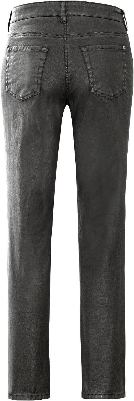 Stehmann - Pantalon - Jambe droite - Femme Noir