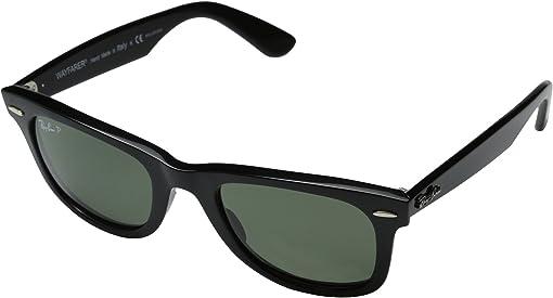 Black/Natural Green Polarized Lens