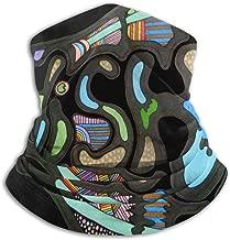 Phish Fish Rock Music Neck Gaiter Face Mask Bandana Seamless Headband For Men Women Sun UV Wind Dust Protection Skiing Riding Running