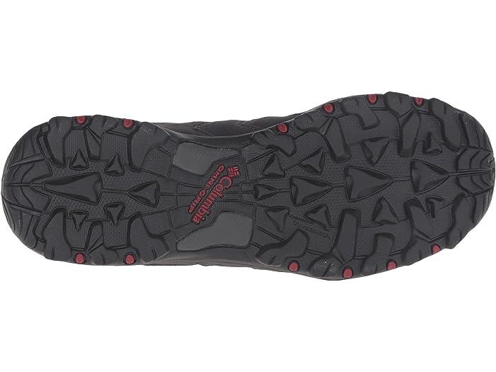 columbia men's north plains ii waterproof hiking shoe
