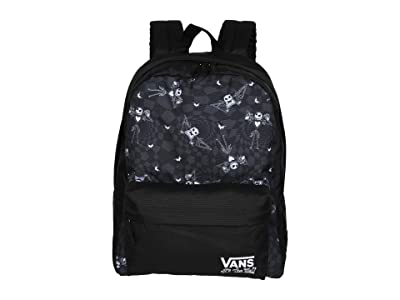 Vans Vans x The Nightmare Before Christmas Backpack Collection (Disney Jack Check/Nightmare (Realm Backpack)) Backpack Bags