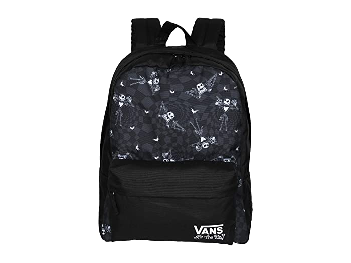 Vans   x The Nightmare Before Christmas Backpack Collection (Disney Jack Check/Nightmare (Realm Backpack)) Backpack Bags