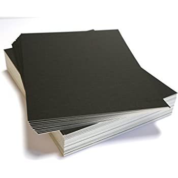 Crafting Matboard Blanks for Framing Pack of 100 MIXED COLORS 7.5x9.5 UNCUT Mat Board