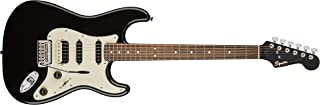 Squier by Fender Contemporary Stratocaster Electric Guitar - HSS - Rosewood Fingerboard - Black Metallic