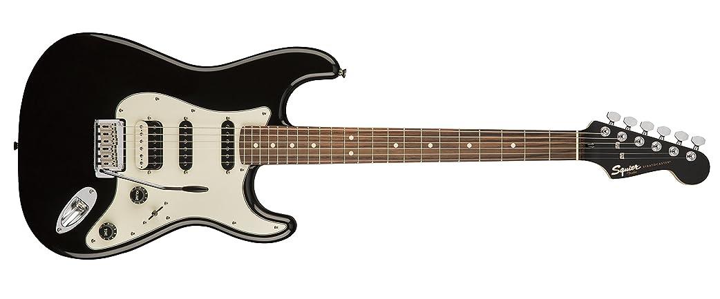定期的に調整可能不誠実Squier by Fender エレキギター Contemporary Stratocaster? HSS, Black Metallic