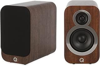 Q Acoustics 3010i Compact Bookshelf Speaker Pair (English Walnut)
