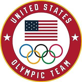 2020 Summer Olympics Tokyo Japan Team USA Flag & Olympic Rings Lapel Pin
