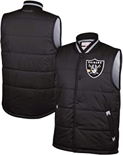 Mitchell & Ness Oakland Raiders Amazing Catch Vest - Black