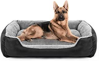 Royal Pets Cart Dog Bed & Cat Bed Black & Grey Color Anti-Skid Bottom & Machine Washable(Reversible)-XXXL