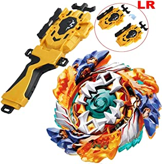 Bey Battle Gyro Burst Battle Evolution God Bay Booster Left Right String Launcher Starter B-122 Buster Geist Fafnir. 8' Starter Left Spin Toy Bey Set Battling Tops Bey Gyro Burst Battle (Package A)