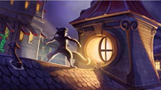 The Most Exciting Game Poster Sly Cooper Thieves In Time Game Canvas Poster Print 24X36