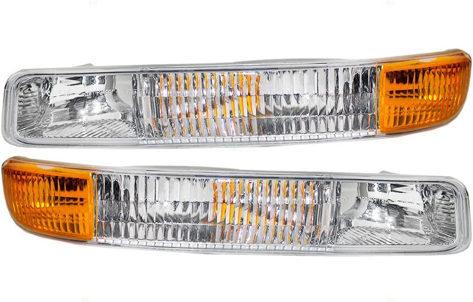 Aftermarket Replacement Driver and Passenger Max 78% OFF Park Same day shipping Set Signal Fro