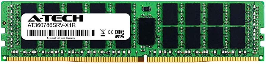 A-Tech 32GB Module for Intel Xeon Gold 6134M - DDR4 PC4-19200 2400Mhz ECC Registered RDIMM 2rx4 - Server Memory Ram (AT360786SRV-X1R10)