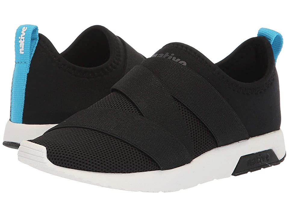 Native Kids Shoes Phoenix (Little Kid) (Jiffy Black/Shell White) Kids Shoes