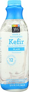 365 Everyday Value Kefir Cultured Whole Milk Vitamin D, Plain, 32 fl oz
