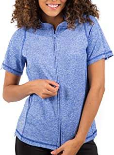 Women's Short Sleeve Lindsey Top - Post Surgery Clothing Adaptive Apparel