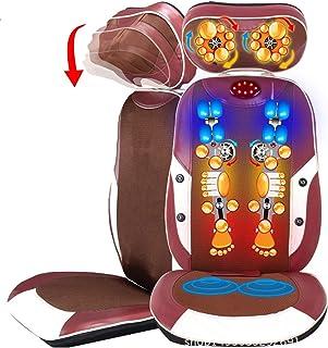 Masaje de espalda completo con bañera de masaje Shiatsu Presidente del amortiguador es adecuado para el cuello y la espalda baja, cuello, hombros, espalda/lumbar, muslo, hogar, oficina