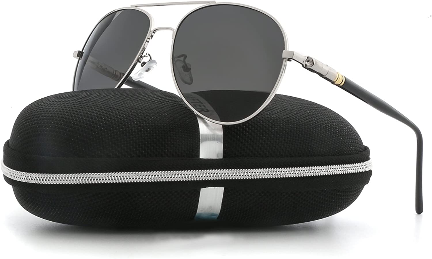 Aviator Sunglasses for Men Women Polarized VOPOLAR Metal Frame UV400 Predection