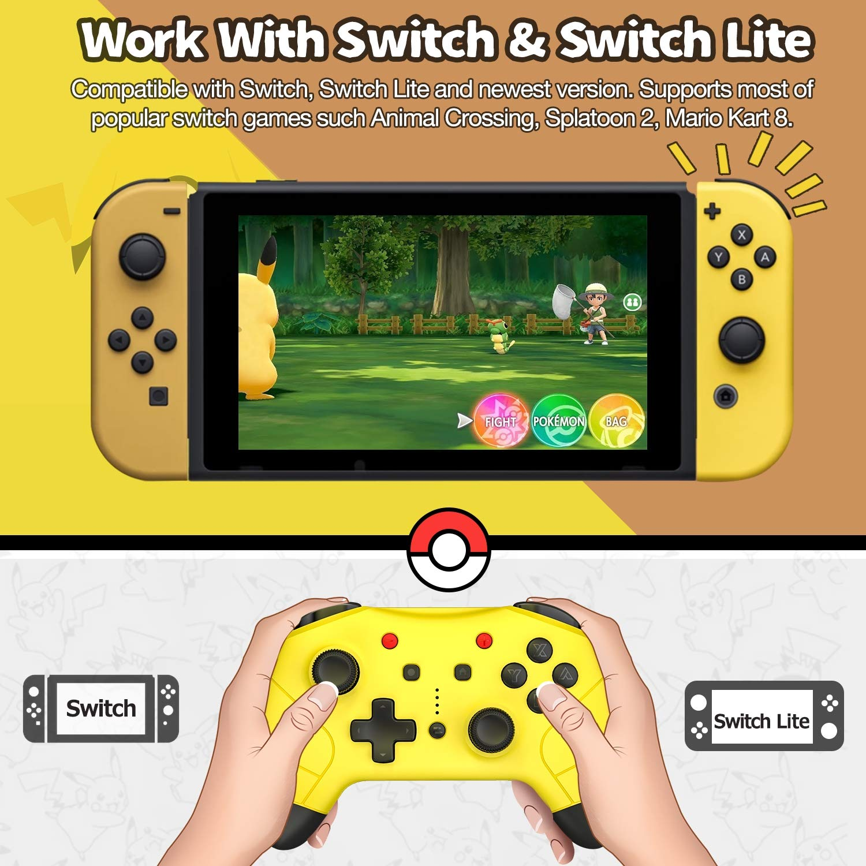 Switch Pro - Mando a distancia para Nintendo Switch, con interruptor inalámbrico turbo: Amazon.es: Videojuegos