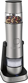 Cuisinart Dual Rechargeable Spice Grinder, Silver - SG-3C