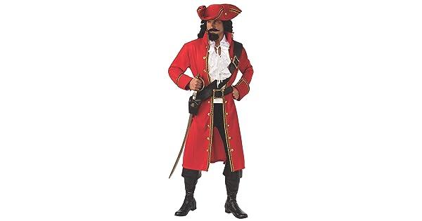 Rubies Pirate Captain Mens Adult Buccaneer Costume