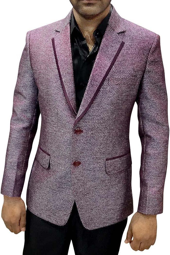 INMONARCH Mens Slim fit Casual Red Lapel Blazer It is very New popularity popular Sport Ja Notched