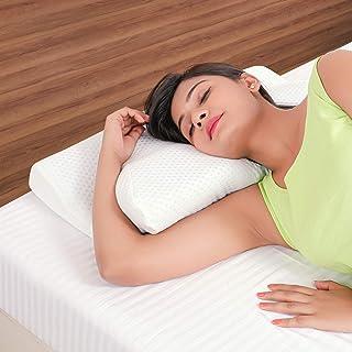 METRON Cervical Pillow for Spondylitis Visco Soft Memory Foam Pillow for Shoulder Neck Pain Orthopedic Contour Bed Pillow ...