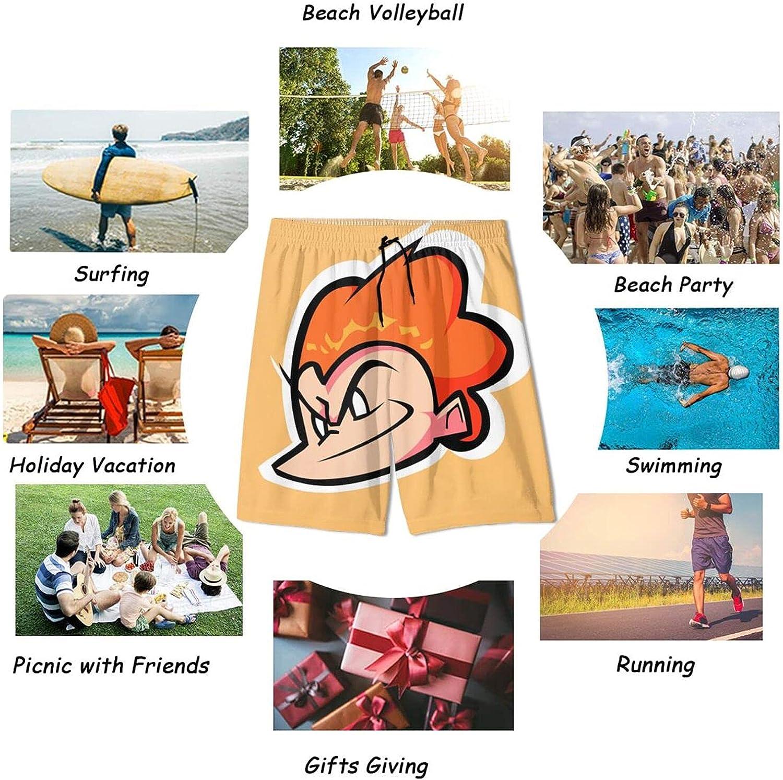 isgxcio Boys Swim Trunks, Fri&Day-Ni&GHT Fun&Kin' Boy Quick Dry Swim Board Shorts Elastic Waits Beach Board Shorts