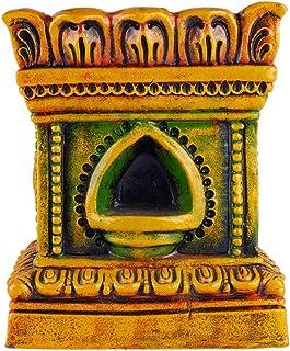 Village Decor Handmade Terracotta Clay Gardening / Brindavan Tulasi/Tulsi Pot/holy Basil Plant Container Indoor- Outdoor P...