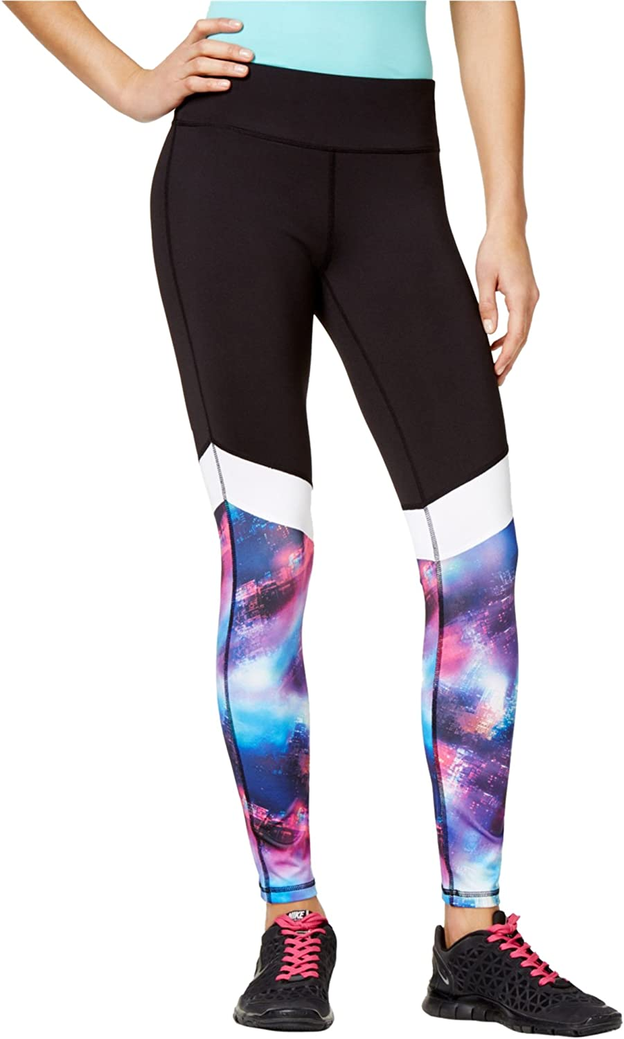 Material Girl Womens Galaxy Compression Athletic Pants