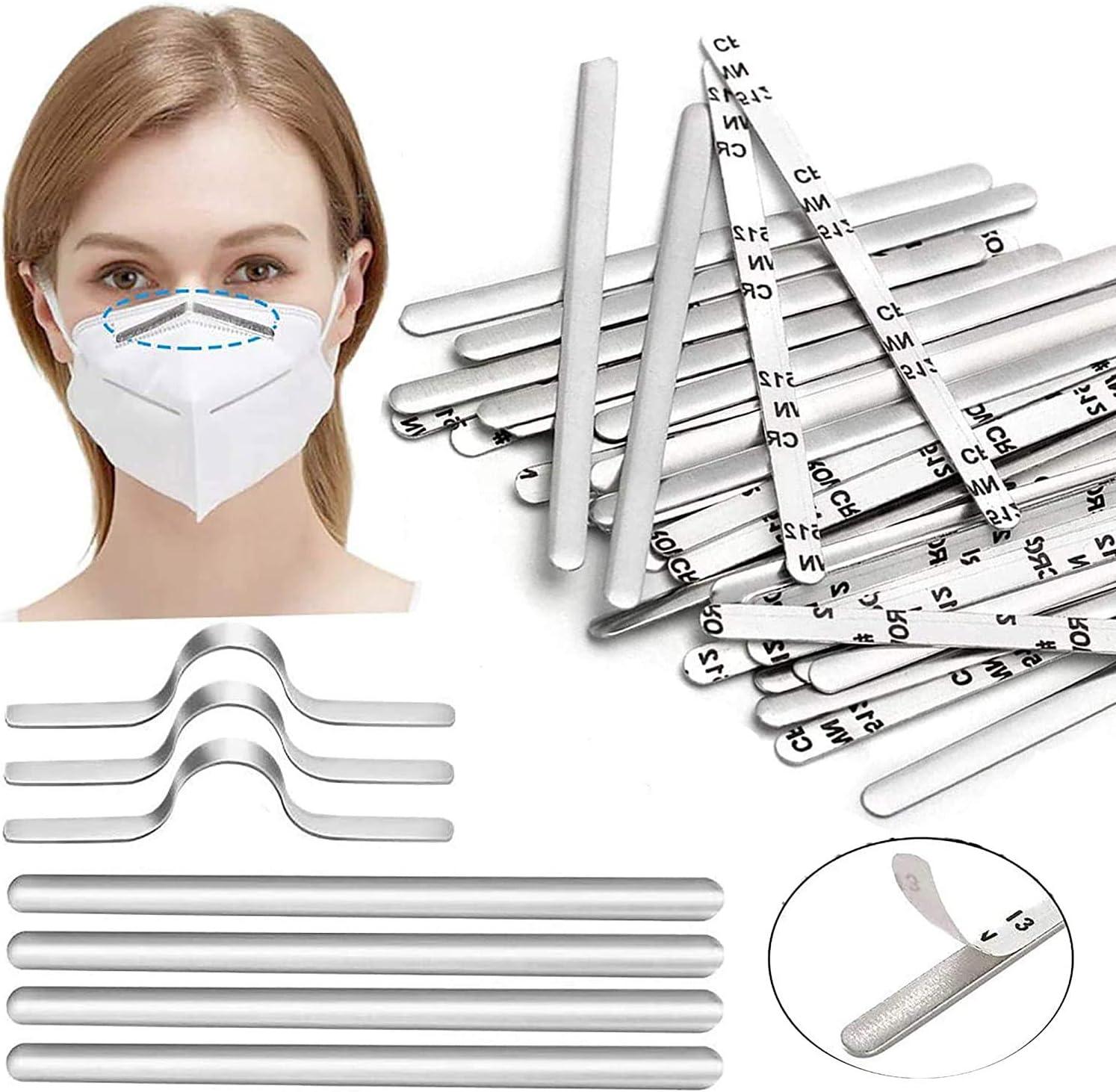 100Pcs Nose Ranking TOP15 Bridge Strip 90MM Colorado Springs Mall for Mask Metal