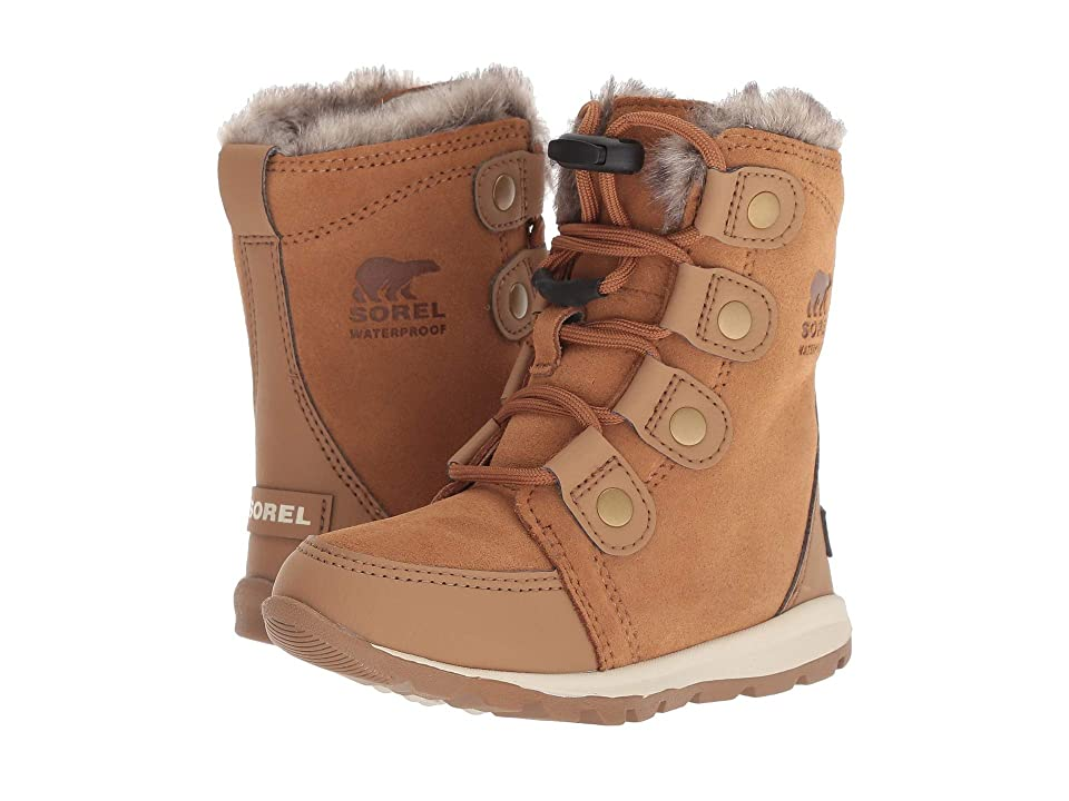 SOREL Kids Whitneytm Suede (Toddler/Little Kid) (Elk/Natural) Girls Shoes