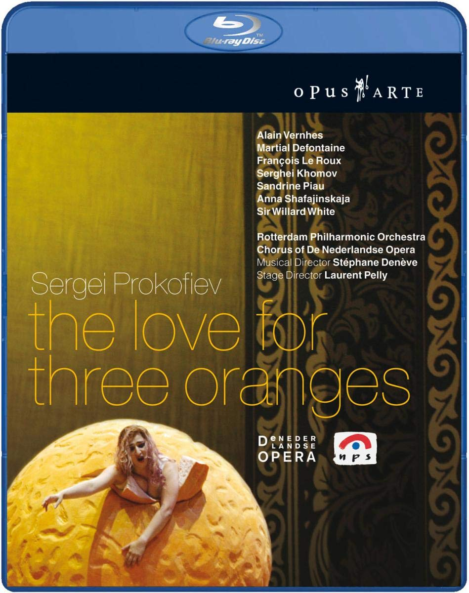 Prokofiev: The Love for Sale special Tampa Mall price Oranges Blu-ray Three