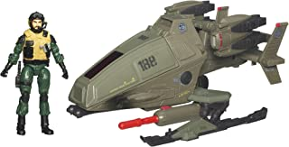 Gi Joe Alpha Vehicle - Ghost Hawk With Tomahawk