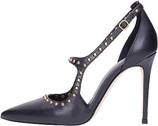 Zapato de salón by Michael Kors AVA de Piel Tachuelas Negra
