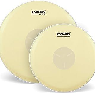 Evans Tri-Center Bongo Drum Head Pack، 7 1/4 و 8 5/8 اینچ