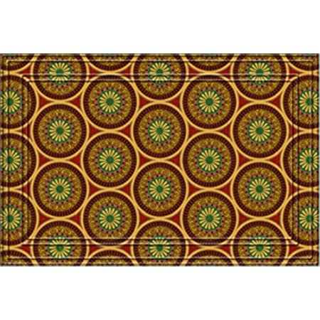 Naturelles Medallions Door Mat 24 Inch By 36 Inch Doormats Garden Outdoor